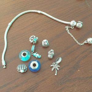 💙PANDORA bracelet & charm lot💙